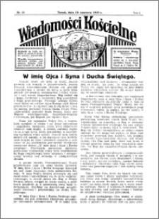 Wiadomości Kościelne : przy kościele Toruń-Mokre 1934-1935, R. 6, nr 29