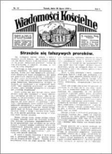 Wiadomości Kościelne : przy kościele Toruń-Mokre 1934-1935, R. 6, nr 35