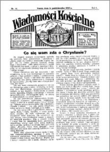 Wiadomości Kościelne : przy kościele Toruń-Mokre 1934-1935, R. 6, nr 45
