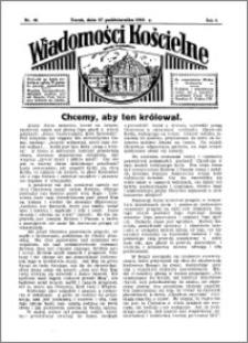 Wiadomości Kościelne : przy kościele Toruń-Mokre 1934-1935, R. 6, nr 48