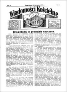 Wiadomości Kościelne : przy kościele Toruń-Mokre 1934-1935, R. 6, nr 50