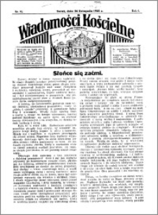 Wiadomości Kościelne : przy kościele Toruń-Mokre 1934-1935, R. 6, nr 52