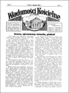 Wiadomości Kościelne : przy kościele Toruń-Mokre 1935-1936, R. 7, nr 36