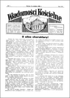Wiadomości Kościelne : przy kościele Toruń-Mokre 1936-1937, R. 8, nr 3