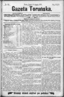 Gazeta Toruńska 1893, R. 27 nr 189