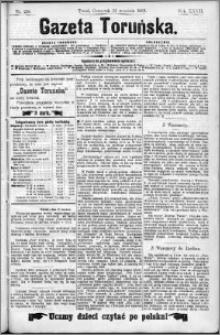 Gazeta Toruńska 1893, R. 27 nr 218