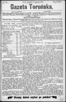 Gazeta Toruńska 1894, R. 28 nr 16