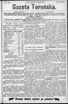 Gazeta Toruńska 1894, R. 28 nr 44