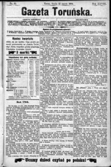 Gazeta Toruńska 1894, R. 28 nr 65