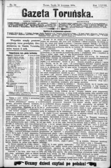 Gazeta Toruńska 1894, R. 28 nr 94