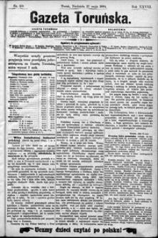 Gazeta Toruńska 1894, R. 28 nr 119
