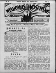 Wiadomości Kościelne : (gazeta kościelna) : dla parafij dekanatu chełmżyńskiego 1932, R. 4, nr 22
