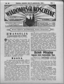 Wiadomości Kościelne : (gazeta kościelna) : dla parafij dekanatu chełmżyńskiego 1932, R. 4, nr 43
