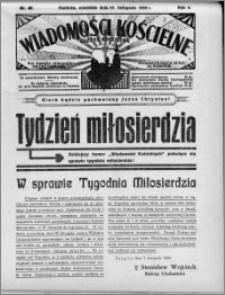 Wiadomości Kościelne : (gazeta kościelna) : dla parafij dekanatu chełmżyńskiego 1932, R. 4, nr 48