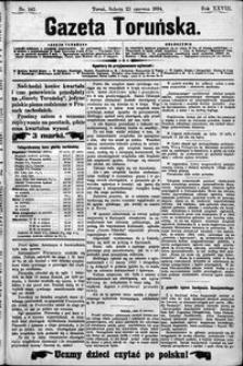 Gazeta Toruńska 1894, R. 28 nr 142
