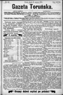 Gazeta Toruńska 1894, R. 28 nr 145