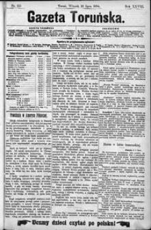 Gazeta Toruńska 1894, R. 28 nr 155
