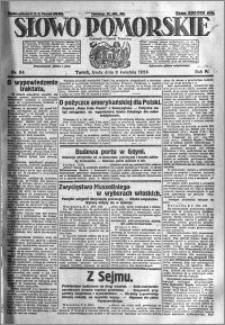 Słowo Pomorskie 1924.04.09 R.4 nr 84