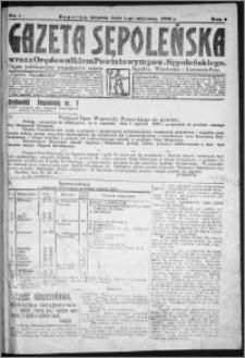 Gazeta Sępoleńska 1929, R. 3, nr 1