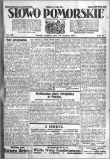 Słowo Pomorskie 1924.04.13 R.4 nr 88