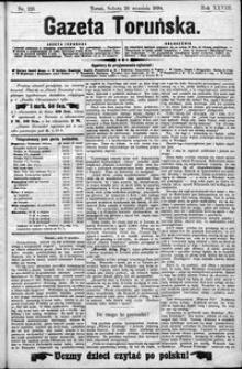 Gazeta Toruńska 1894, R. 28 nr 225