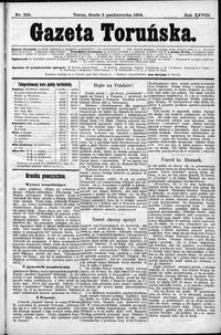 Gazeta Toruńska 1894, R. 28 nr 228