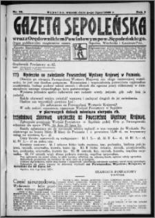 Gazeta Sępoleńska 1929, R. 3, nr 78