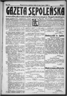 Gazeta Sępoleńska 1929, R. 3, nr 80