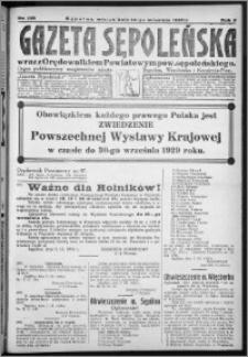 Gazeta Sępoleńska 1929, R. 3, nr 105