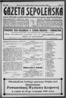 Gazeta Sępoleńska 1929, R. 3, nr 108