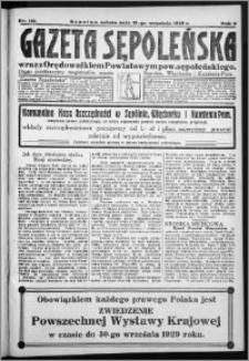 Gazeta Sępoleńska 1929, R. 3, nr 110