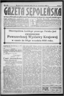 Gazeta Sępoleńska 1929, R. 3, nr 111