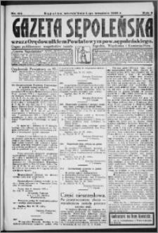Gazeta Sępoleńska 1929, R. 3, nr 114