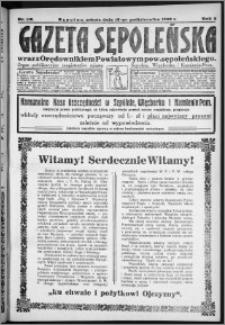 Gazeta Sępoleńska 1929, R. 3, nr 118
