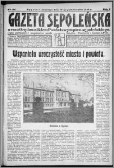 Gazeta Sępoleńska 1929, R. 3, nr 120