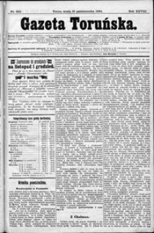 Gazeta Toruńska 1894, R. 28 nr 252