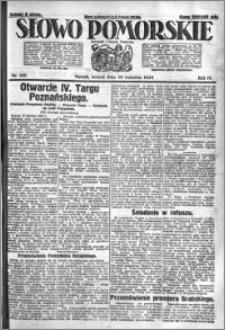 Słowo Pomorskie 1924.04.29 R.4 nr 100