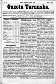 Gazeta Toruńska 1895, R. 29 nr 42