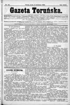 Gazeta Toruńska 1895, R. 29 nr 88