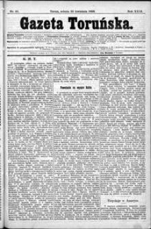 Gazeta Toruńska 1895, R. 29 nr 91