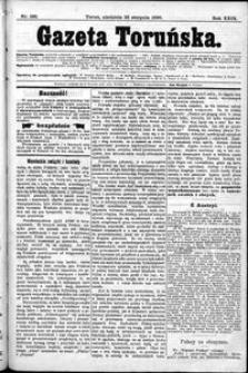 Gazeta Toruńska 1895, R. 29 nr 196