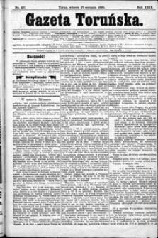 Gazeta Toruńska 1895, R. 29 nr 197