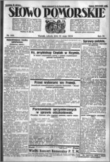 Słowo Pomorskie 1924.05.10 R.4 nr 109