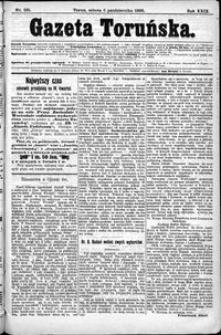 Gazeta Toruńska 1895, R. 29 nr 231