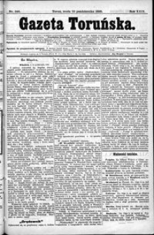 Gazeta Toruńska 1895, R. 29 nr 246