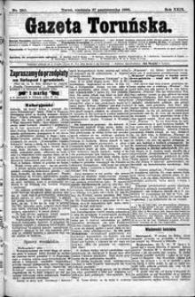 Gazeta Toruńska 1895, R. 29 nr 250