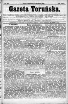 Gazeta Toruńska 1895, R. 29 nr 261