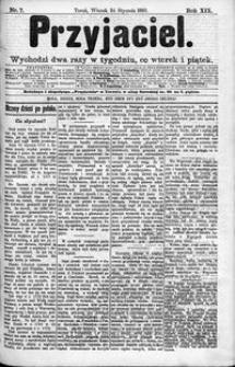 Przyjaciel : pismo dla ludu 1893 nr 7