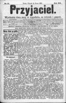 Przyjaciel : pismo dla ludu 1893 nr 23