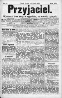 Przyjaciel : pismo dla ludu 1893 nr 27